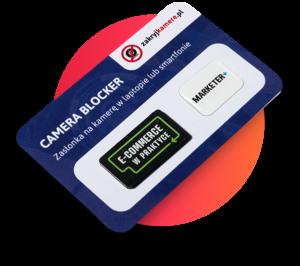 Zestaw camera blokerów z nadrukami logo