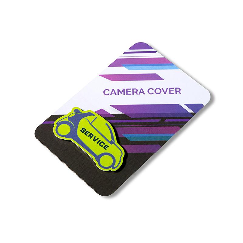 Camera cover w kształcie samochodu